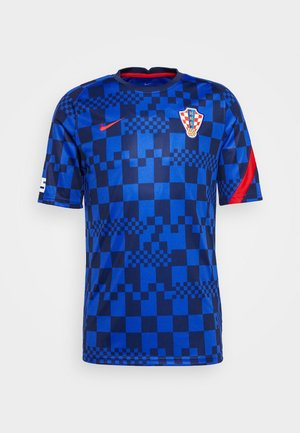 KROATIEN CRO  - Nationalmannschaft - bright blue/university red