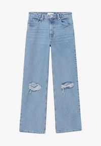 Mango - Straight leg jeans - hellblau - 0