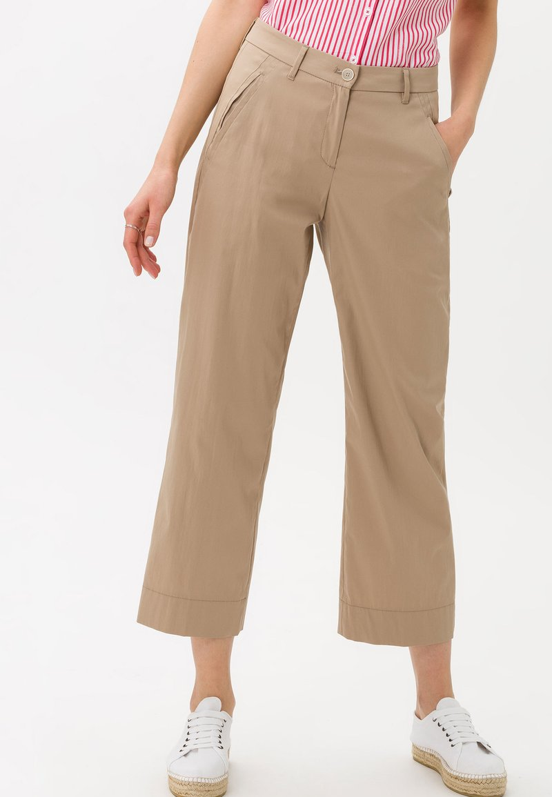 BRAX - STYLE MAINE  - Trousers - brown