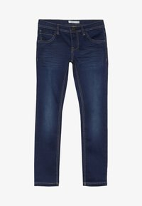 Name it - NKMROSS DNMTHAYER PANT - Slim fit jeans - dark blue denim