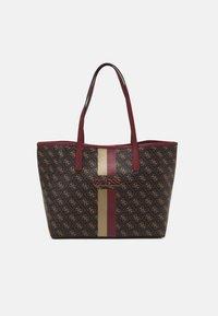VIKKY TOTE SET - Shopping bag - brown/merlot