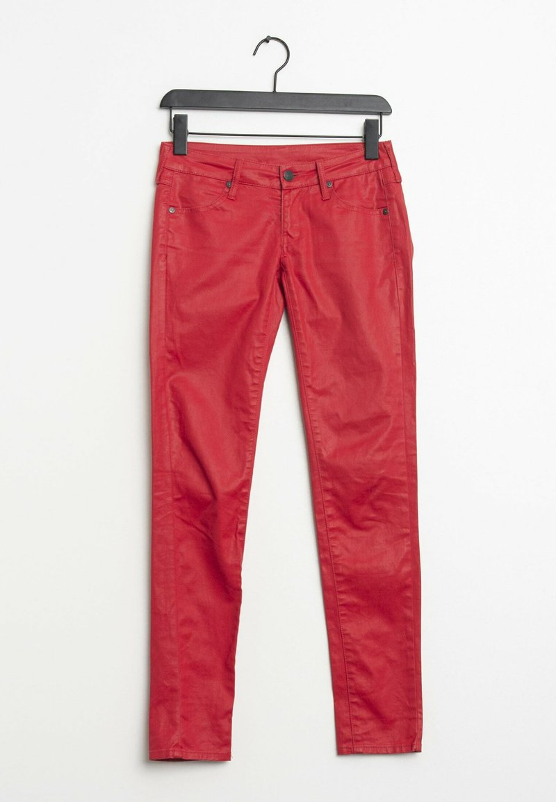 Mango - Slim fit jeans - red