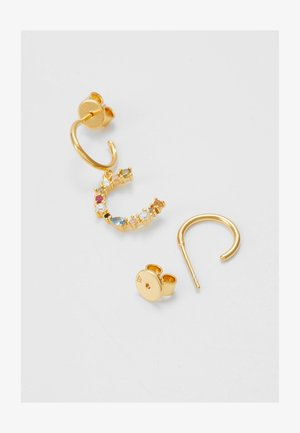 E EARRING - Pendientes - gold-coloured