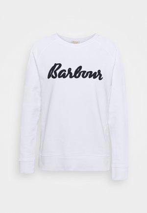 OTTERBURN OVERLAYER - Sweater - white