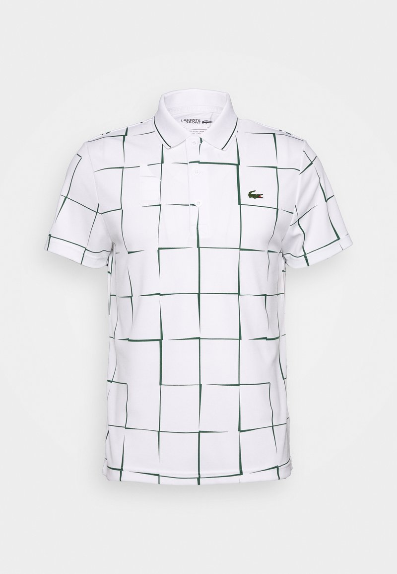 Lacoste Sport - DH2052 - Polo shirt - white/green
