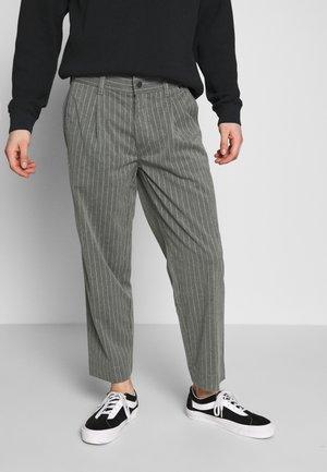 MIXED BUSINESS  SUIT PANT - Kalhoty - grey