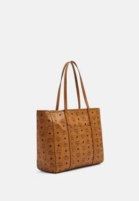 MCM - TONI E/W SHOPPER IN VISETOS - Tote bag - cognac - 2