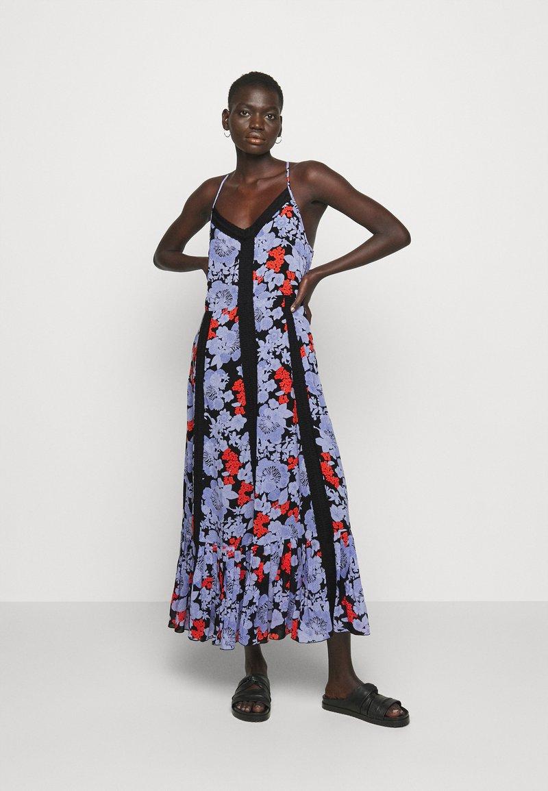Hofmann Copenhagen - ANAIS  PRINT - Maxi dress - black