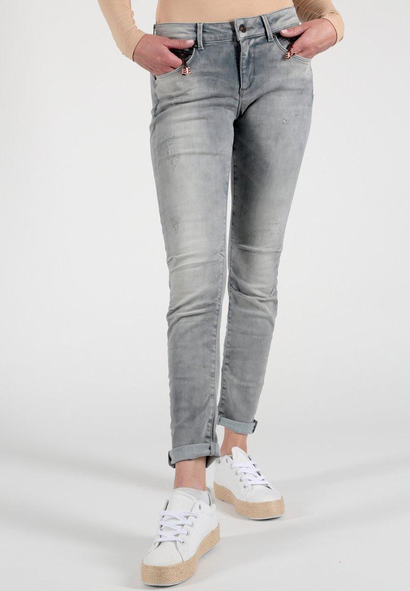 Miracle of Denim - Slim fit jeans - grau