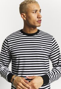 Obey Clothing - ICON BOX TEE - Long sleeved top - black multi