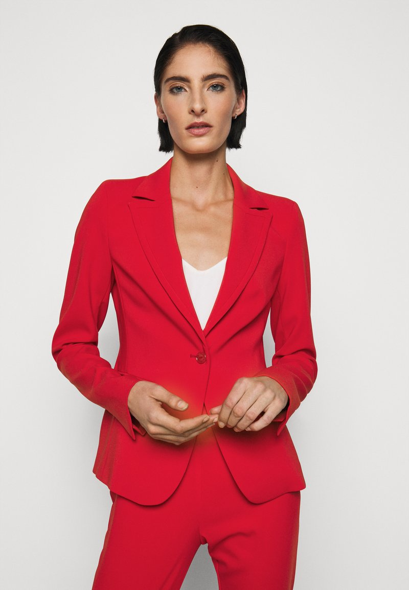 Patrizia Pepe - HIGH FIT - Blazer - red