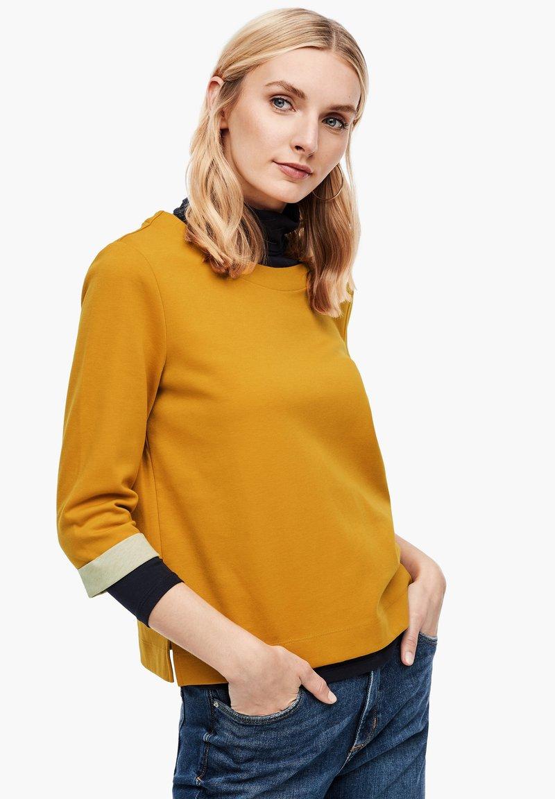 s.Oliver - Sweatshirt - yellow