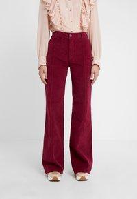 See by Chloé - Spodnie materiałowe - juicy purple - 0