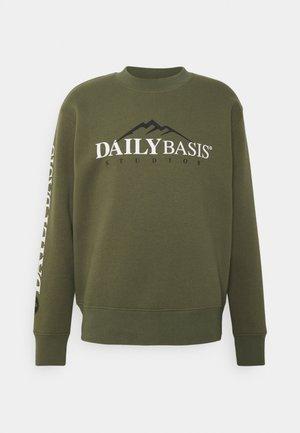 EXPLORER CREW UNISEX - Sweater - khaki