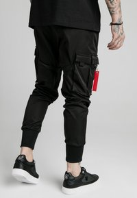 SIKSILK - COMBAT TECH PANTS - Kapsáče - black - 2
