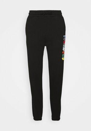 MONO LOGO  - Spodnie treningowe - black