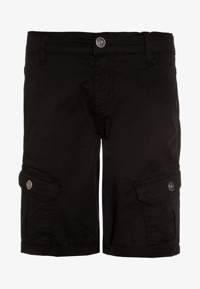 Pantaloni cargo - schwarz
