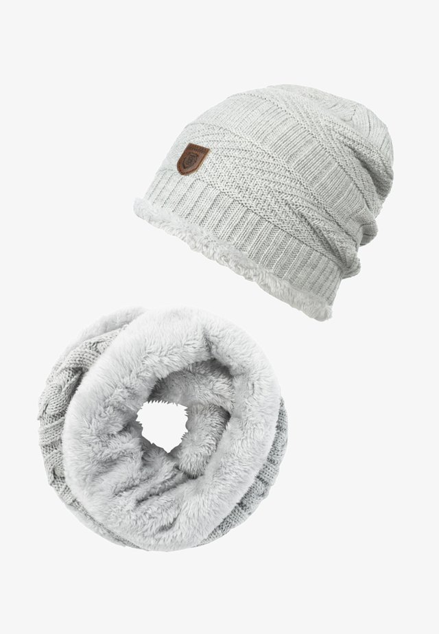 SET - Sjaal - light grey