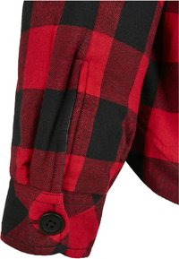 Urban Classics - Button-down blouse - black/red - 5