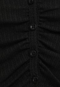 Bershka - Cardigan - black - 5