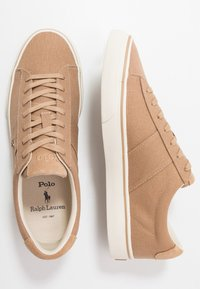 Polo Ralph Lauren - SAYER - Sneakers basse - regiment khaki - 1