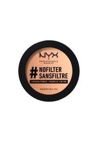 Nyx Professional Makeup - NOFILTER FINISHING POWDER - Powder - 7 medium olive - 1