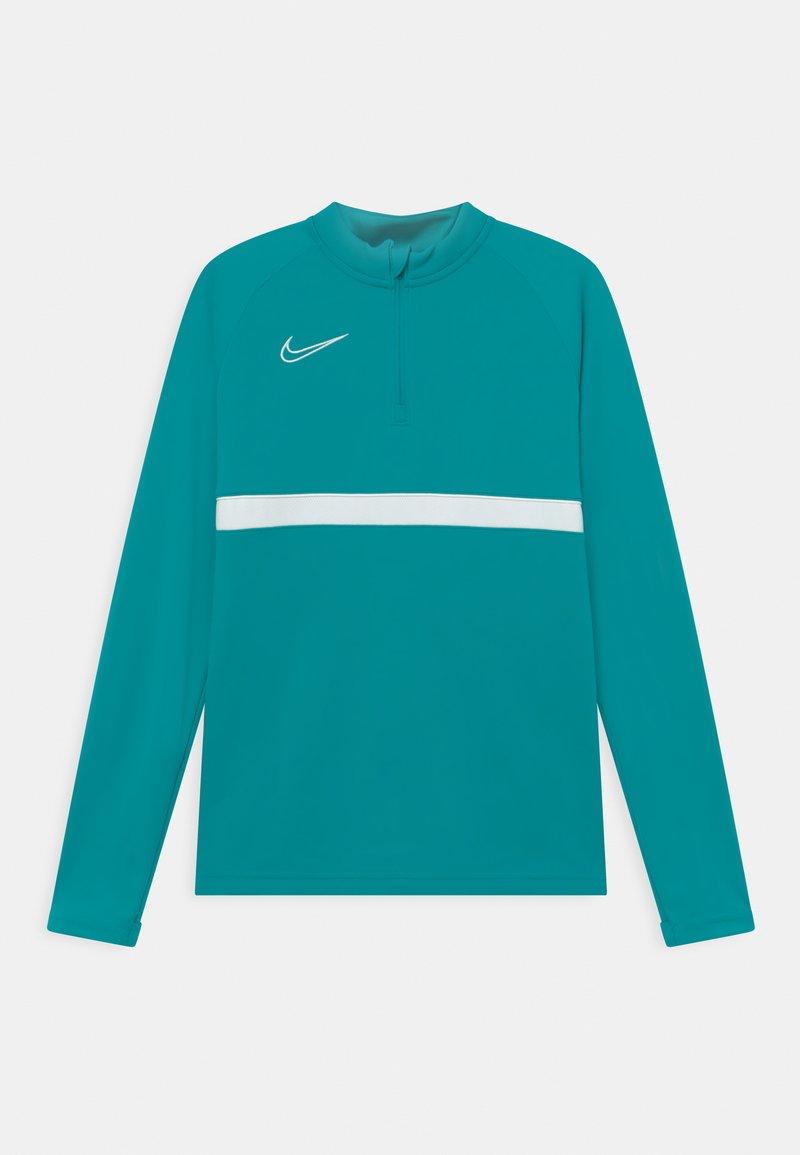 Nike Performance - ACADEMY DRILL UNISEX - Sports shirt - aquamarine/white