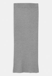 Grunt - ELSE  - Maxi sukně - grey melange - 1