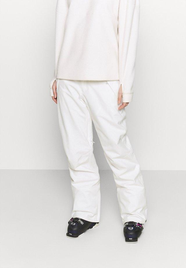 SOCIETY STOUT - Zimní kalhoty - stout white
