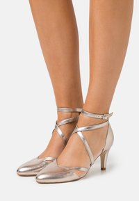 Anna Field - LEATHER - Classic heels - beige - 0