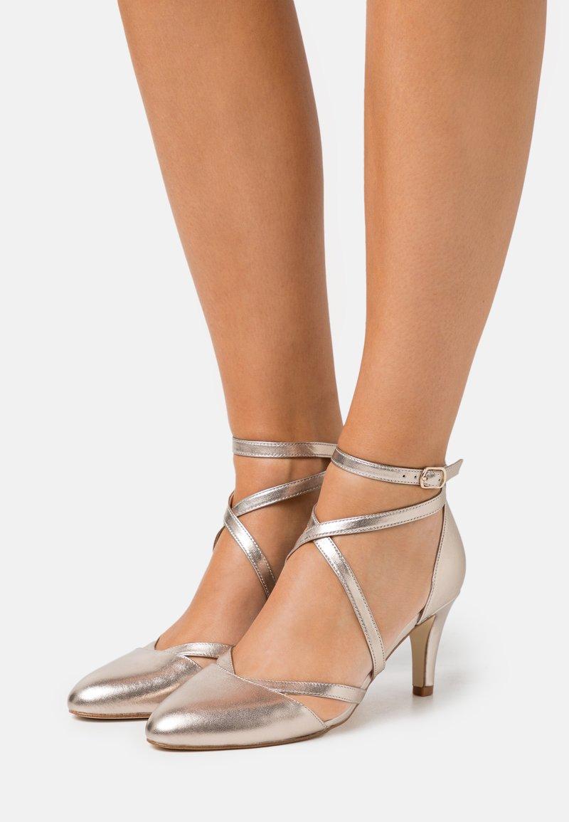 Anna Field - LEATHER - Classic heels - beige