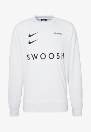 CREW - Long sleeved top - white/black