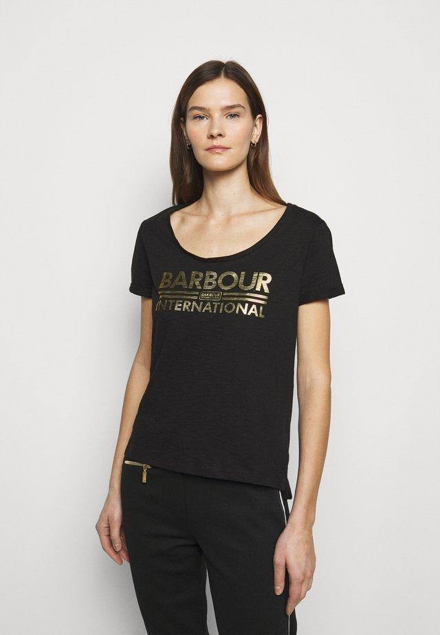 WHEELSPIN TEE - T-shirt print - black