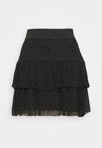 ONLY - ONLSANNA SHORT SKIRT  - A-line skirt - black - 1