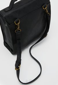 TYPO - SATCHEL BACKPACK - Reppu - black - 5