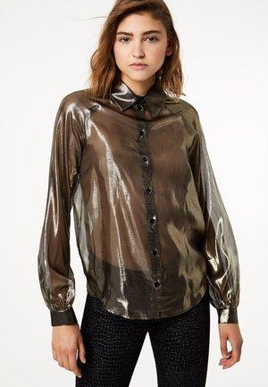 LIU JO JEANS - Button-down blouse - black