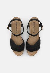 Copenhagen Shoes - ELVIRA  - Platform sandals - black - 5