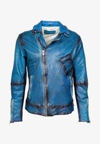 Freaky Nation - BENBLUE-FN - Leather jacket - multiple blue - 5