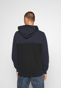 Calvin Klein - COLOR BLOCK ZIP THROUGH HOODIE - Felpa aperta - blue - 2