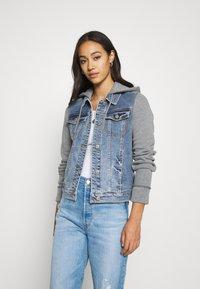 Hollister Co. - Denim jacket - medium wash - 0
