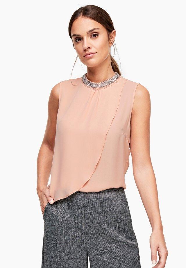 Bluse - vintage blush
