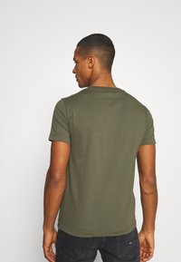 Replay - 2 PACK - T-shirt basic - olive/grey - 2