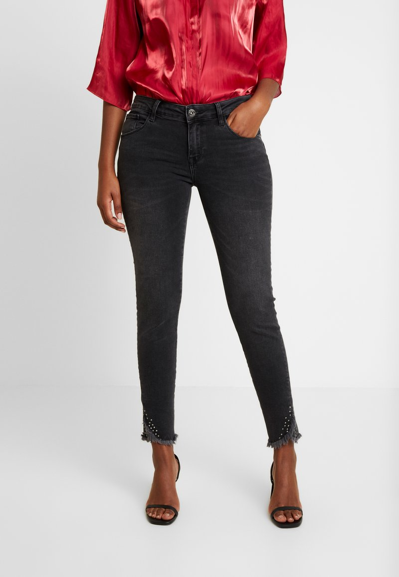 Mos Mosh - SUMNER FRAY TROK - Jeans Skinny Fit - black