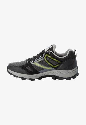Hiking shoes - black/lime