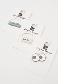 TYPO - ENAMEL STICKERS 5 PACK - Accessoires - Overig - multi - 1
