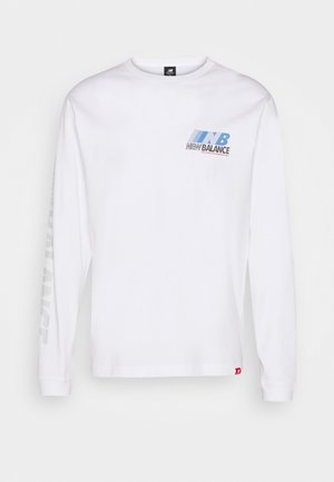 ESSENTIALS SPEED - Long sleeved top - white