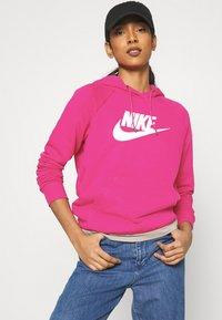 Nike Sportswear - HOODIE - Kapuzenpullover - fireberry/white - 3