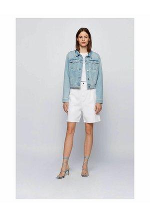 Giacca di jeans - blau