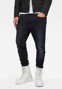 G-Star - D-STAQ 3D  - Jeans fuselé - dark aged - 1