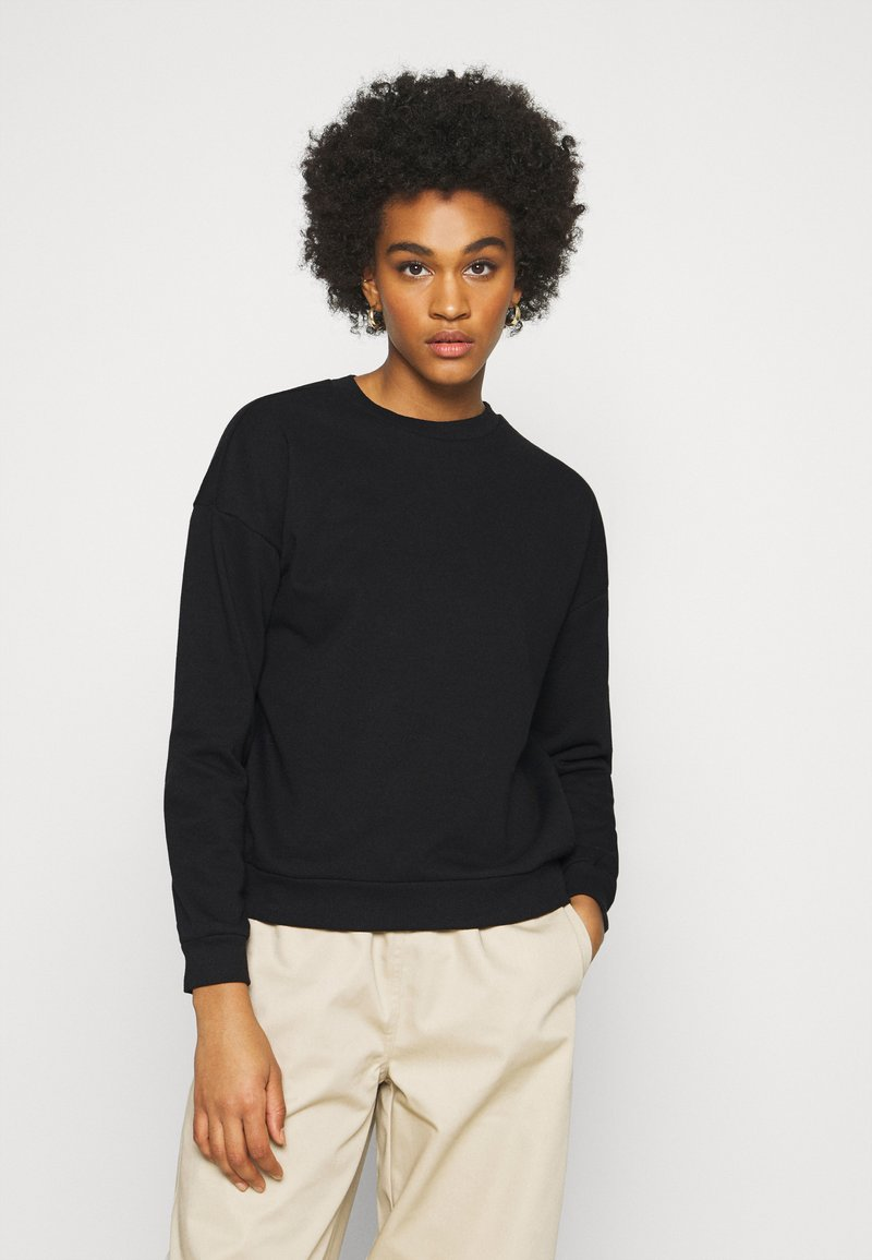 Vero Moda - VMELLA BASIC  - Sweatshirt - black